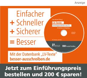 Anzeige Einführungspreis DVD LV-Texte